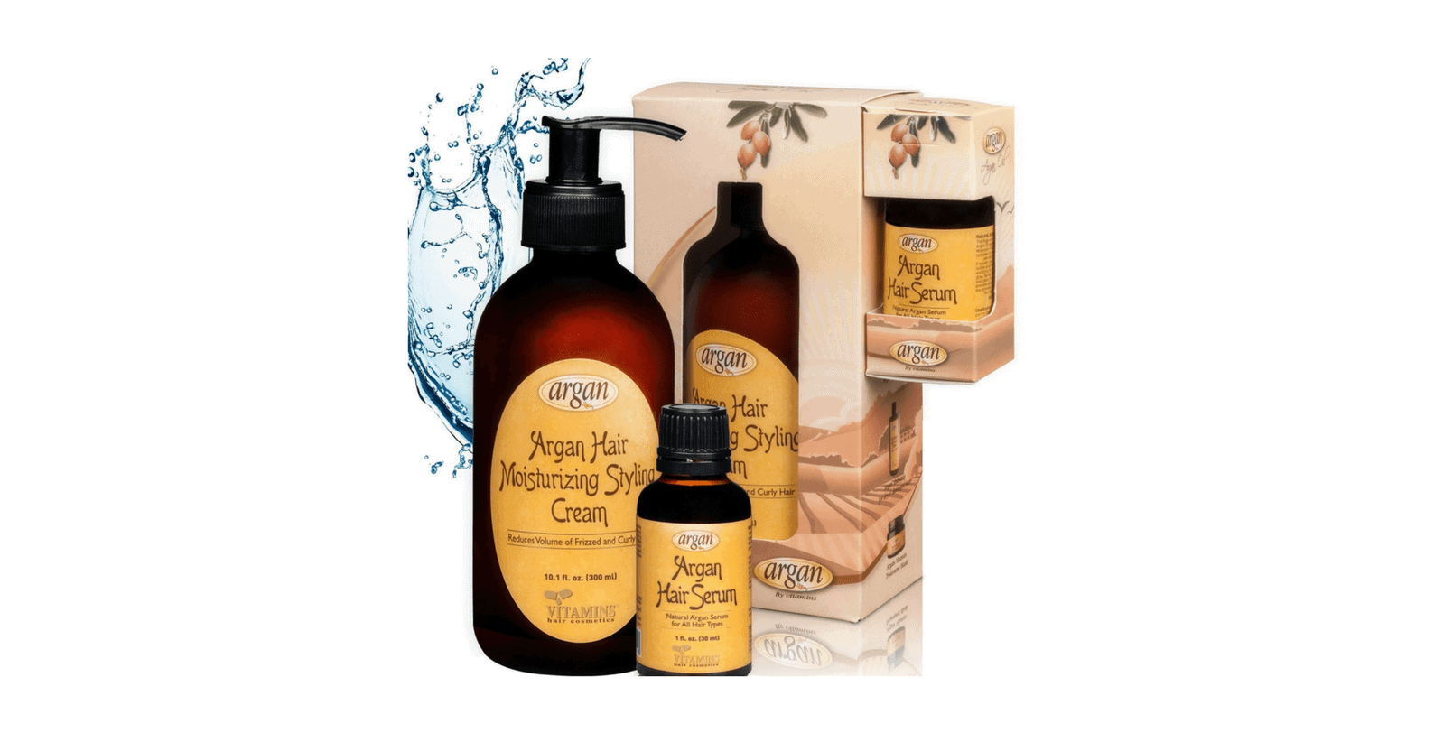 Leave-in-Conditioner-Hair-Serum-Kit